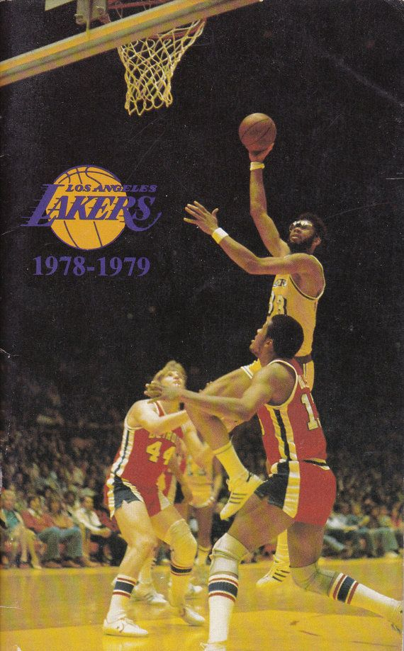 Los Angeles Lakers 1978/79 Media Guide Signed By by