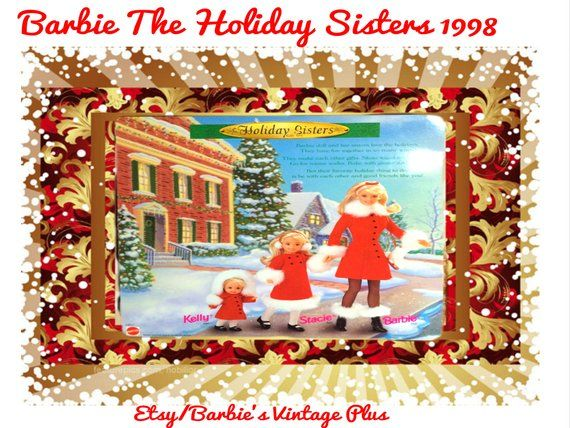 Barbie The Holiday Sisters Gift Set, New in original unopened box