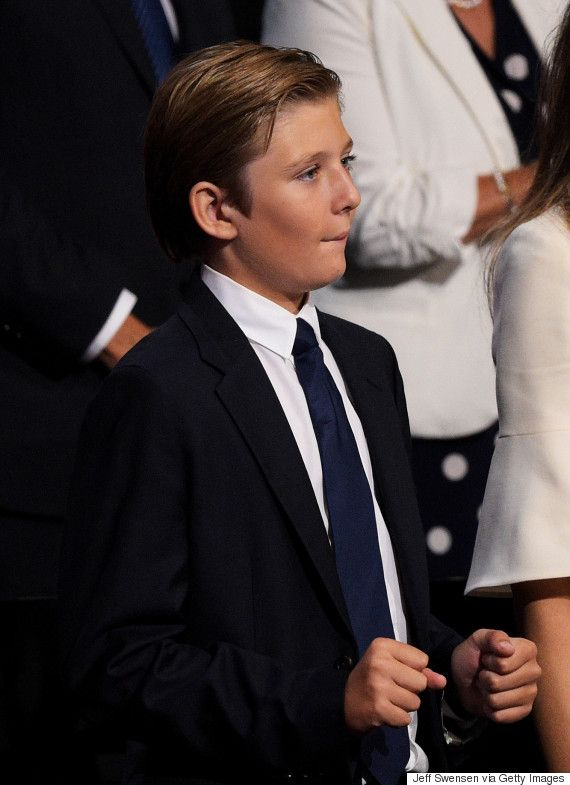 barron trump | Barron William Trump | Pinterest | White ...