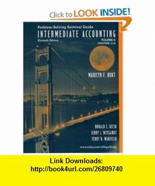 Problem solving survival guide intermediate accounting vol 2 2 chapters 15 24 9780471226413 donald e kieso jerry j weygandt terry d warfield isbn 10 0471226416 isbn 13 978 0471226413 tutorials pdf fandeluxe Choice Image