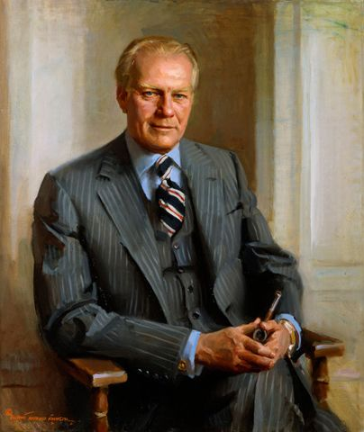 President Gerald Ford (#38)...he instilled peace and forgiveness at a difficult time for our nation!