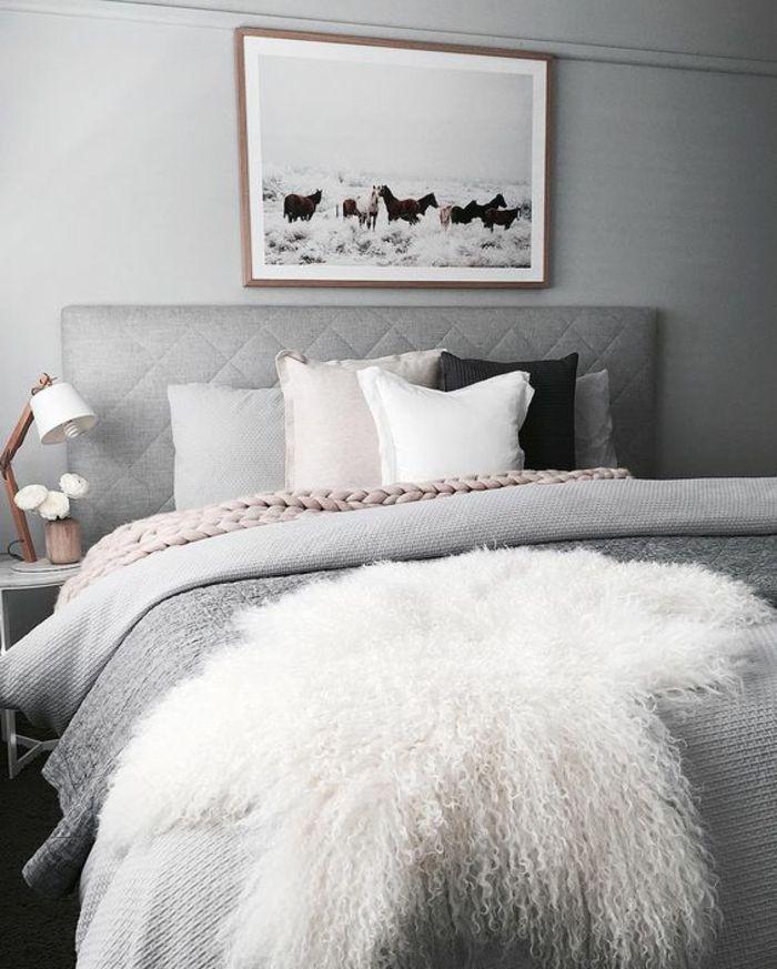 1001 id es pour am nager en gris perle les variantes dans toutes les pi ces peinture gris. Black Bedroom Furniture Sets. Home Design Ideas