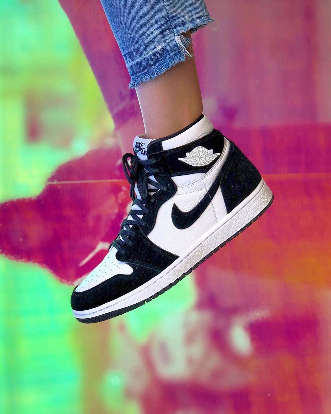Air Jordan 1 Retro High OG Panda Twist | Zapatos vans mujer ...