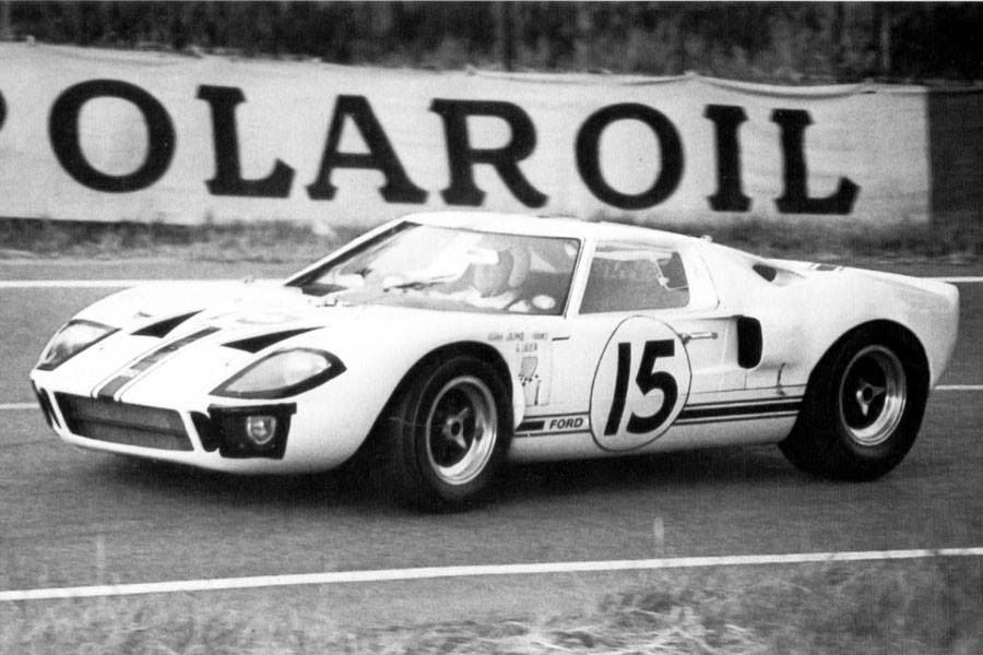 1966 Le Mans Ford Gt40 15 Guy Ligier Bob Grossman A Ford France Entry Dnf S Stevens Ford Gt Ford Gt40 Sports Car