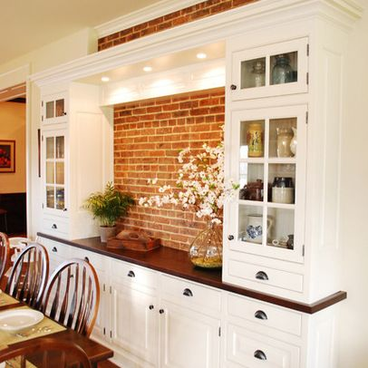 Built-in Buffet Design Ideas, Pictures, Remodel, and Decor - page ...