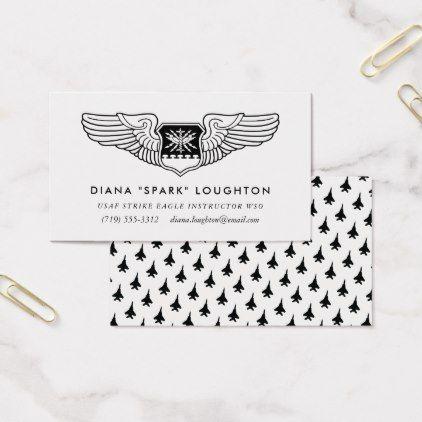 professional navigator wings professional aviator business card - Aviator Business Card