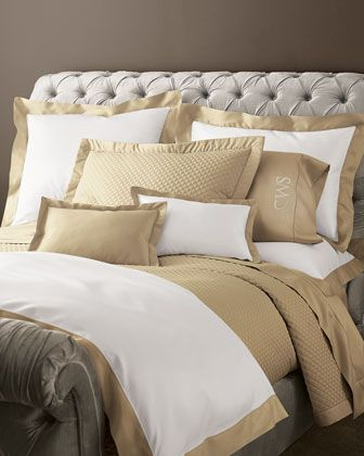Polished Bronze Ralph Lauren Wyatt Bedding