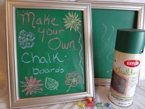 DIY Chalkboard idea