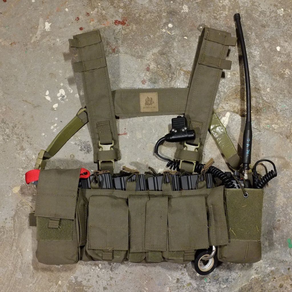 Mayflower Rig Comms Amp Ifak Milsim Tactical Gear