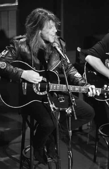 Jon Bon Jovi Rock Star Legend POSTER Mic