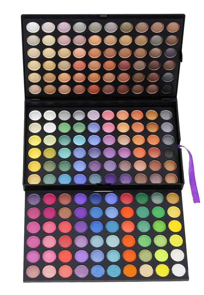 Barato 180 Color sombra maquiagem sombra Make Up Kit Palette, Compro Qualidade Sombra diretamente de fornecedores da China:                                     Nova composição quentes Pro 88 Full Color Eyesh