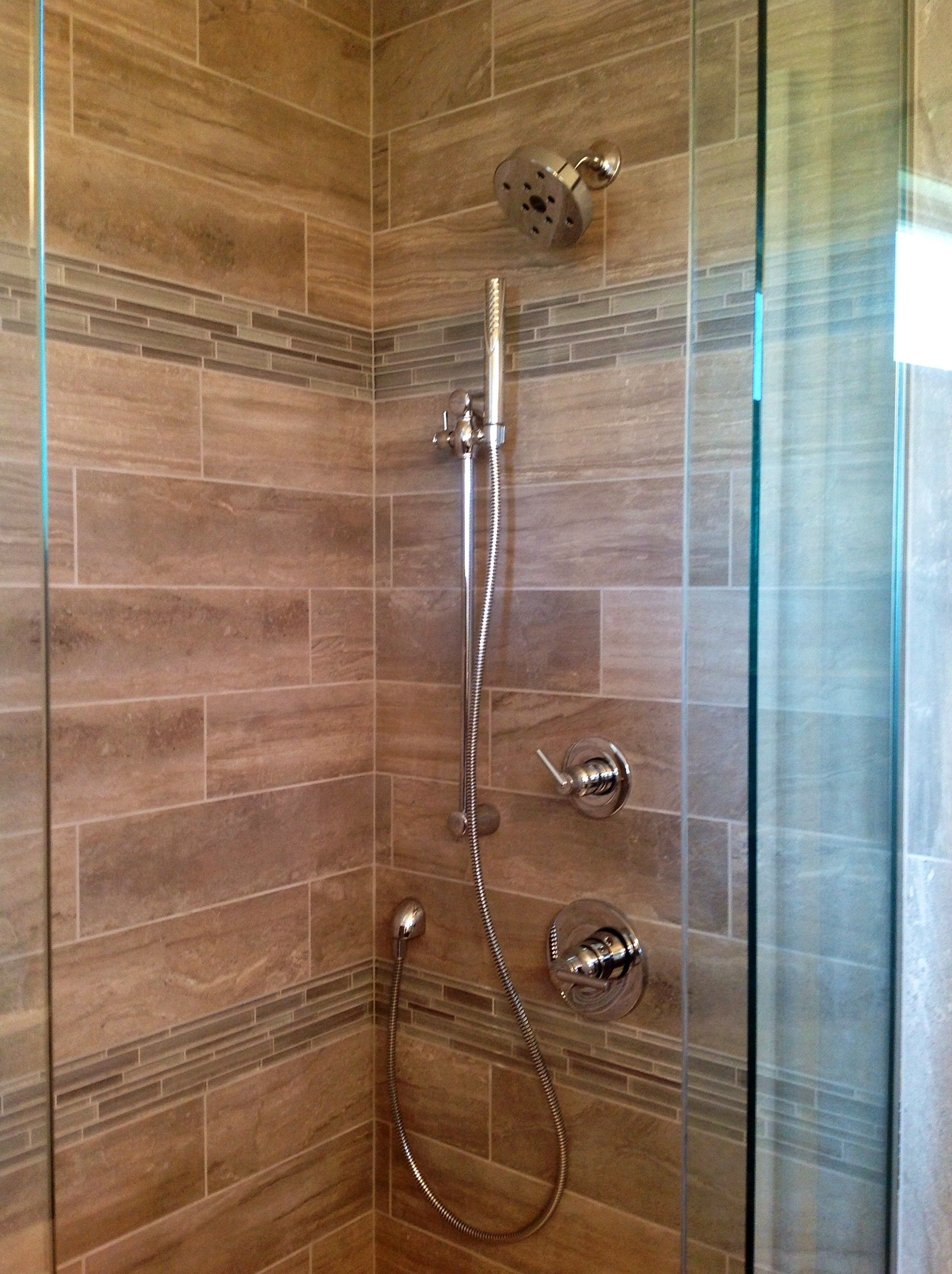 Fixed shower head and hand held shower | Ideas for the House ...