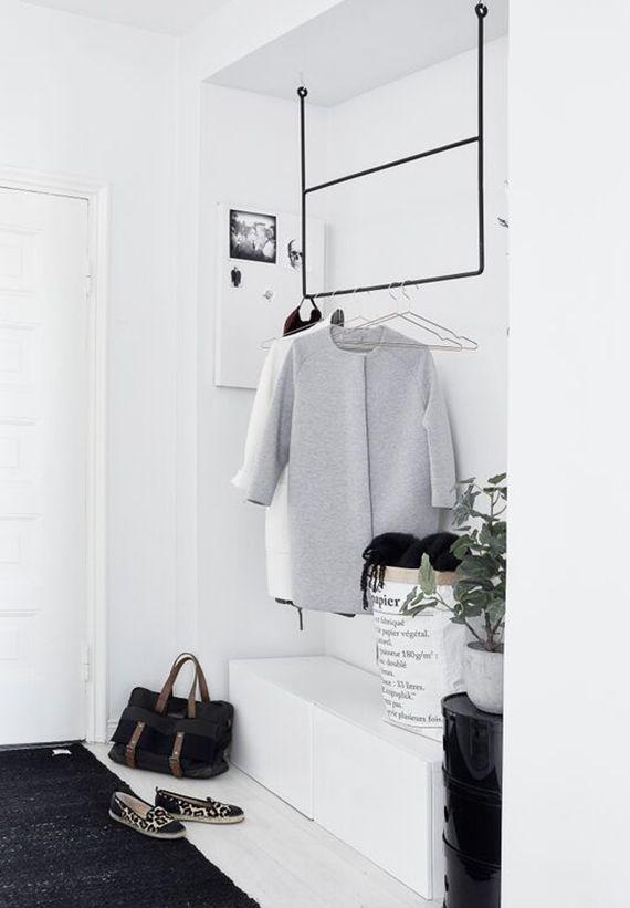 Scandinavian Inspired Entryway Scandinavian Home Interior