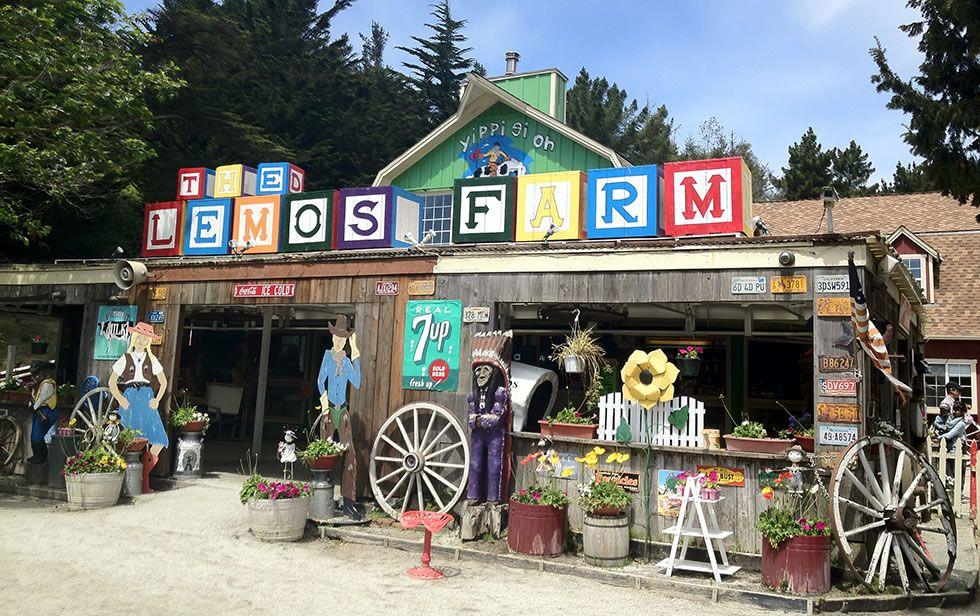Lemos Farm Half Moon Bay Train Rides Yellowstone Camping Northern California