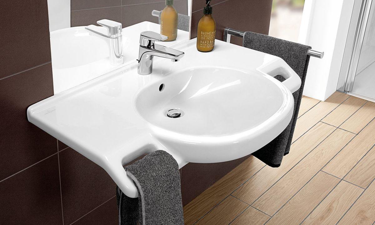 Lavabo Personne Mobilité Réduite lavabo o.novo vita - villeroy & boch en 2019 | salle de bain