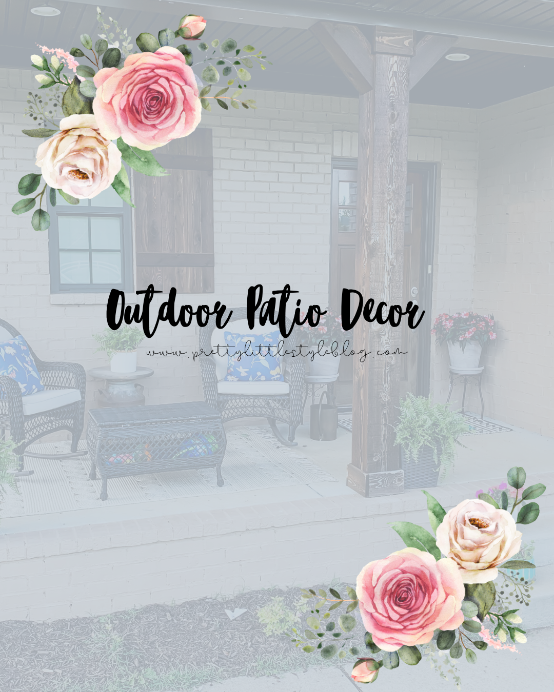 #outdoorpatio #curbappeal #frontporch