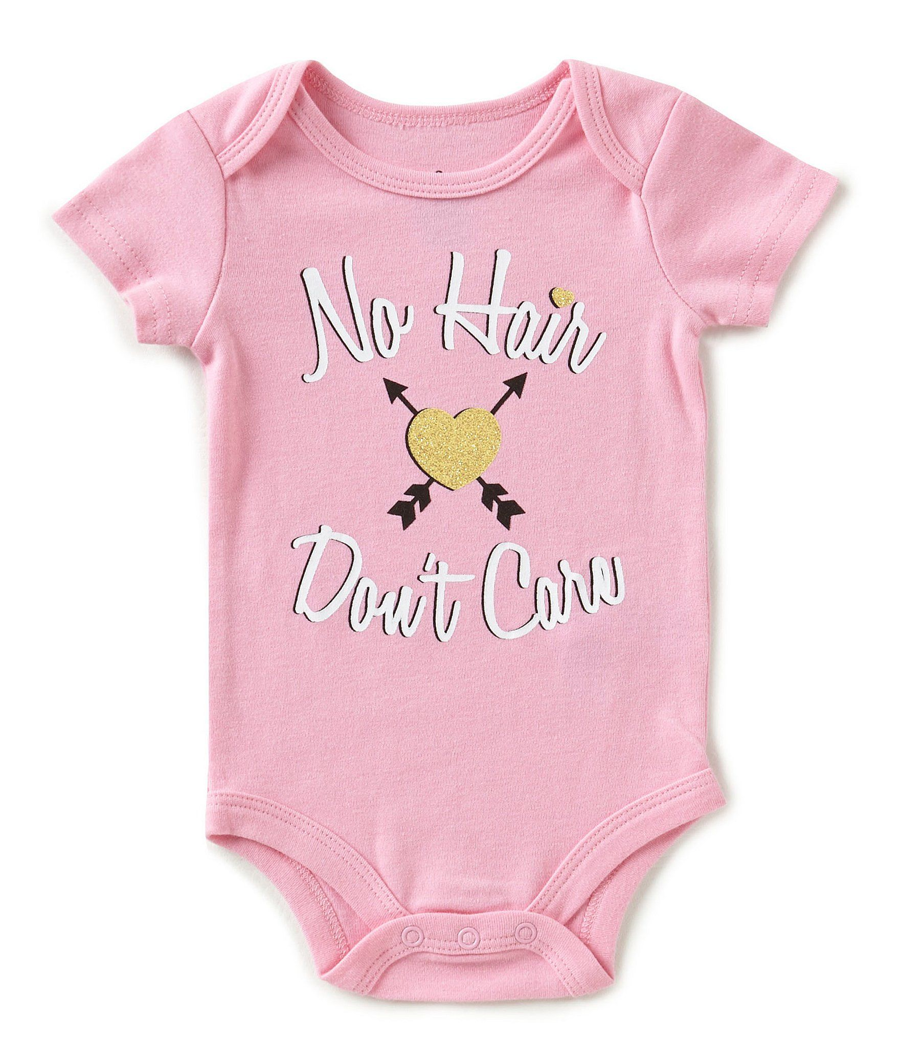Baby Starters Baby Girls 3 12 Months No Hair Don´t Care Short Sleeve
