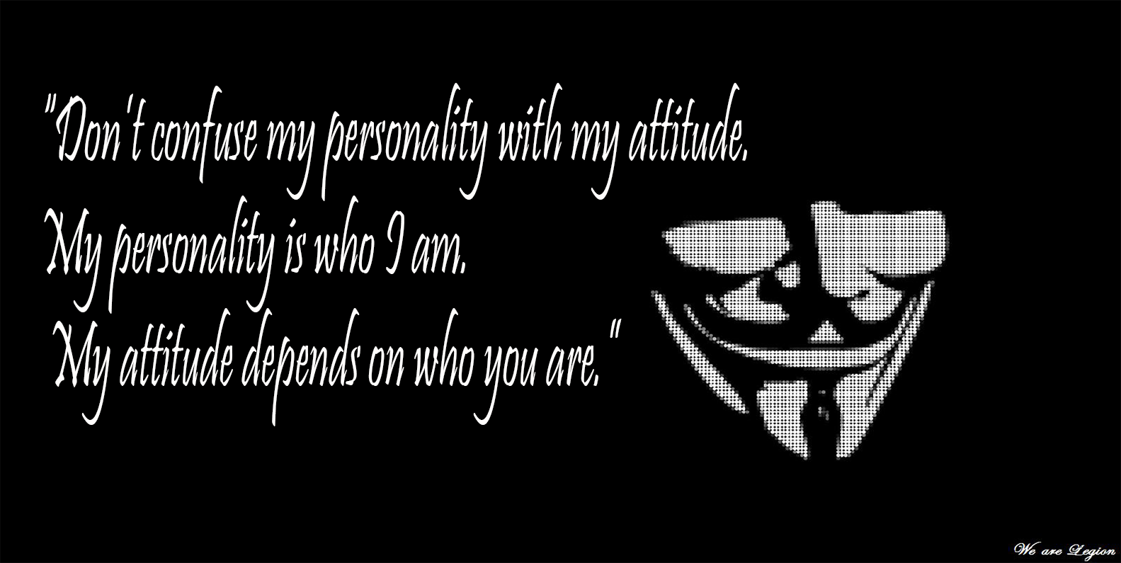 Anonymous Quotes Cool Dark Anonymous Abstract Dark Quote Wallpaper  Quotes  Pinterest