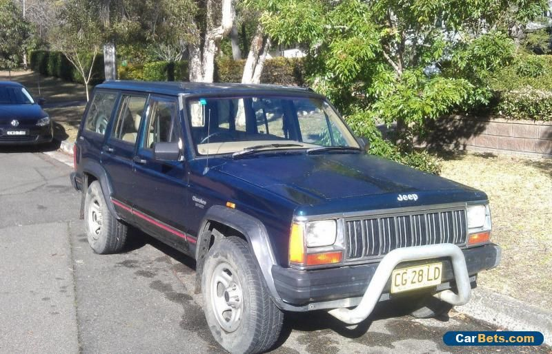 Car For Sale Jeep Rego Cherokee Xj Automatic 4x4 Offroad Tow Ute Car Cheap Sedan Wagon Cool