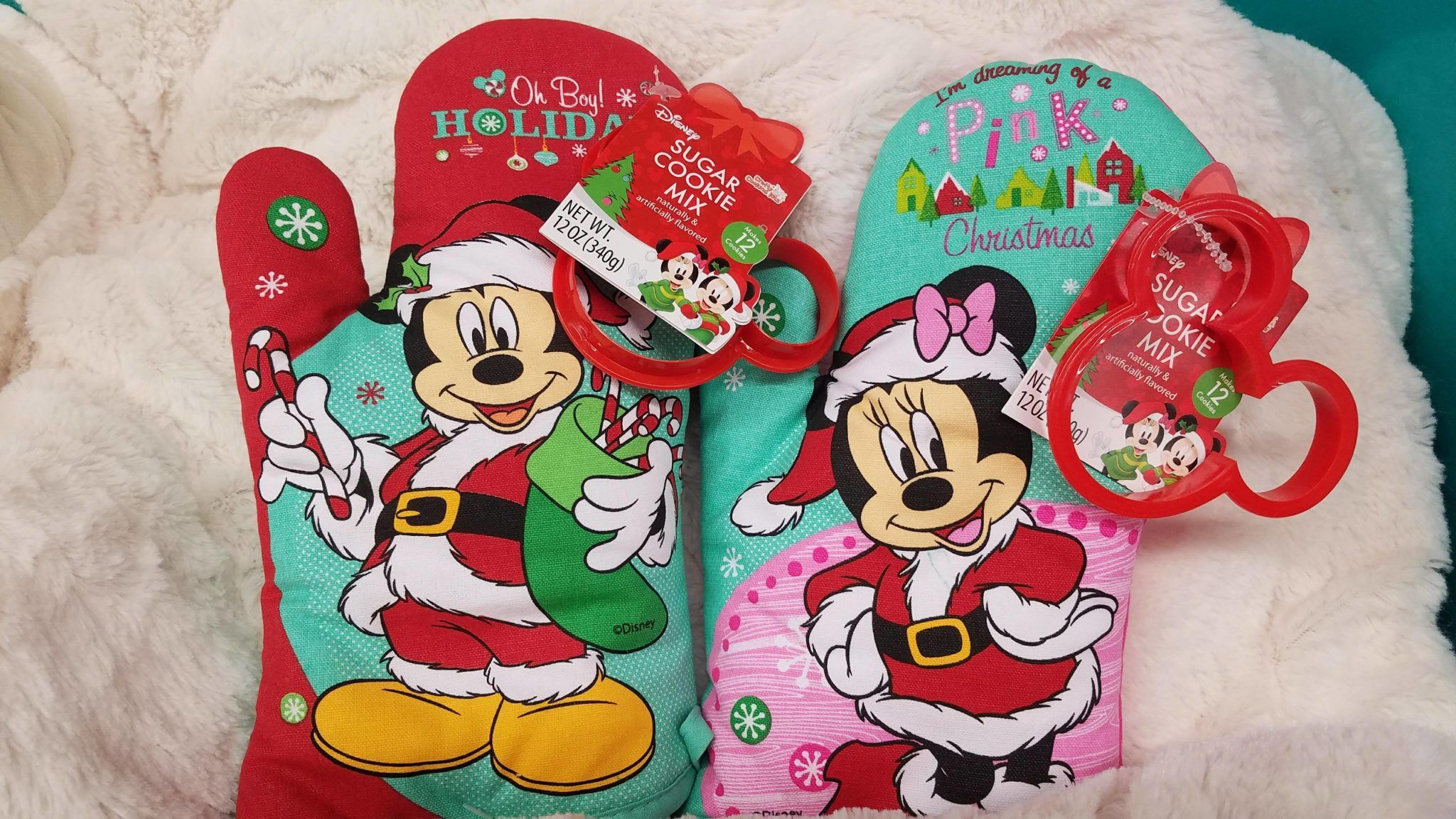 We All Need This Disney Christmas Cookies Oven Mitt From Aldi S Disney Christmas Magical Christmas Christmas Cookies
