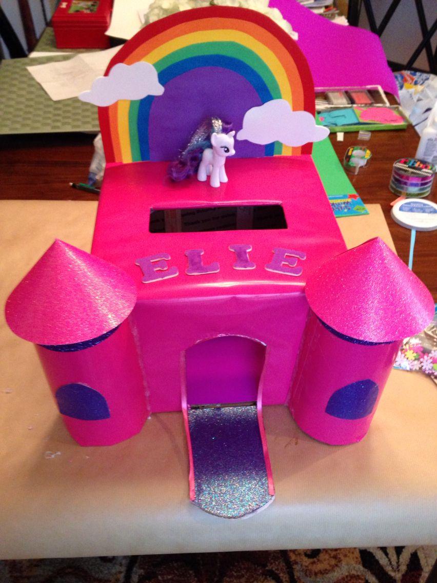 My little pony valentine 39 s box february pinterest for My little pony craft ideas