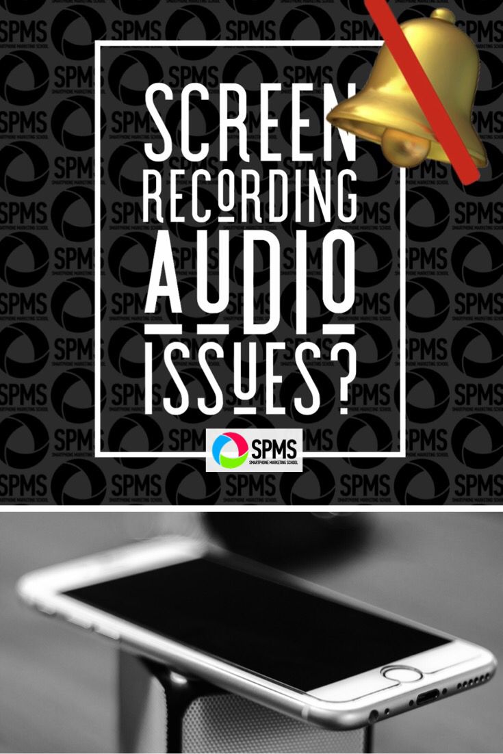 Screen Recording Audio Glitch (And Fix!) (With images