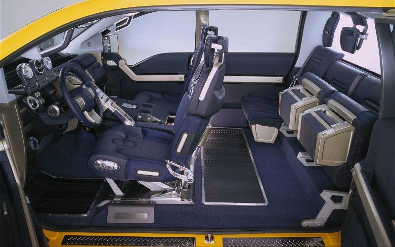 ford mighty f 350 tonka concept interior - Mighty Ford F 750 Tonka
