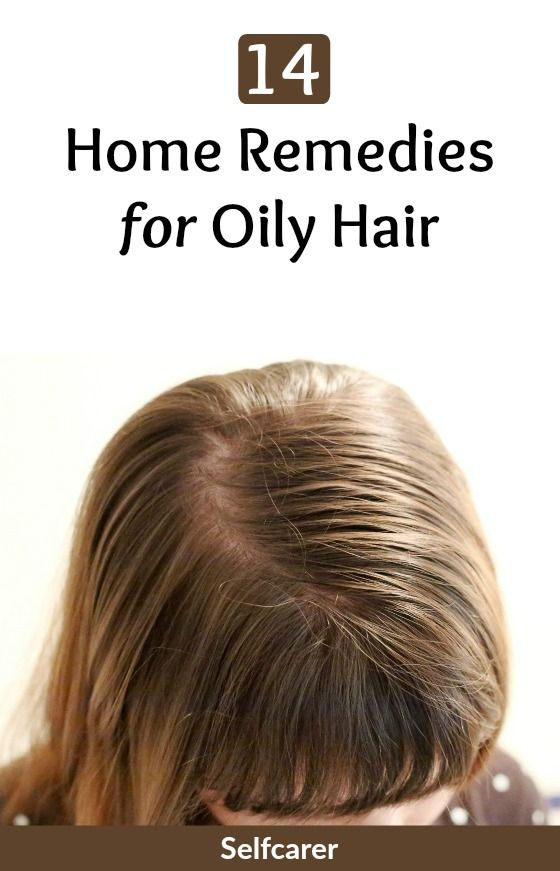 14 Home Remedies for Oily Hair #oilyhair