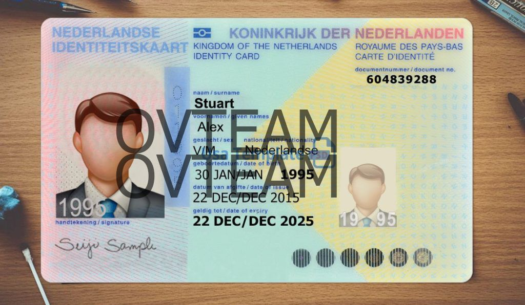 Id Card Editing Fake To Real Documents Netherland Social Security Card Usa States Cards