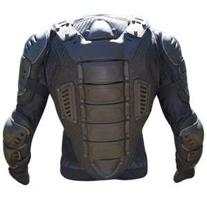 Motorcycle armor makes for great futuristic warrior armor. Need a cyborg? Just stick EL wire in those cracks.