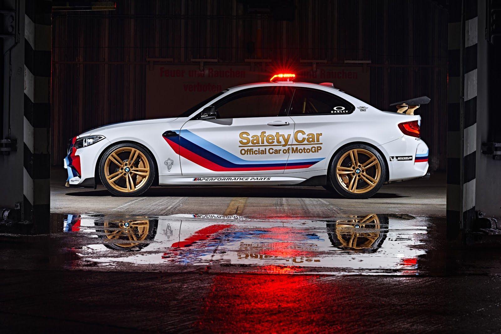 MotoGP 2016 BMW präsentiert sein neues Safety Car für die