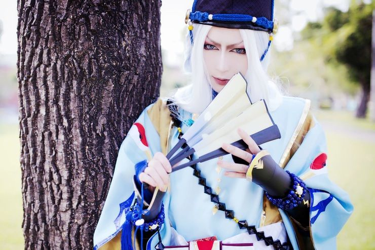 Hyko(八荒 曜) Abe No Seimei Cosplay Photo - Cure WorldCosplay
