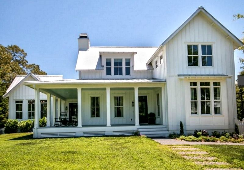 A Modern Farmhouse For Sale In North Carolina Houses For