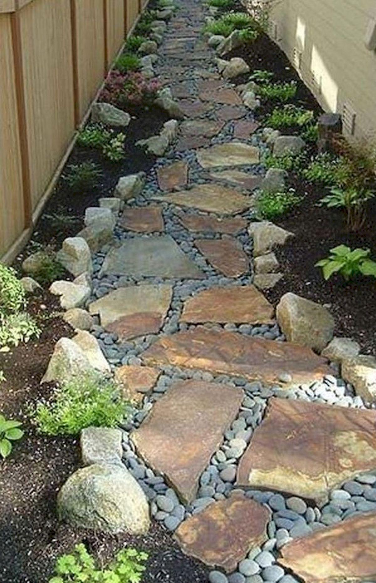 Genius Low Maintenance Rock Garden Design Ideas for Frontyard and Backyard (26) - Googodecor