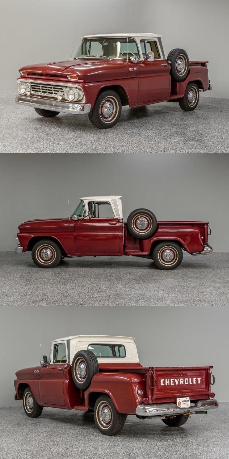 rebuilt engine 1962 Chevrolet C 10 pickup vintage Enjoy seeing past, present and…