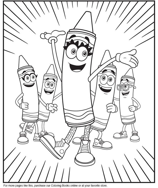 coloring pages crayola # 5