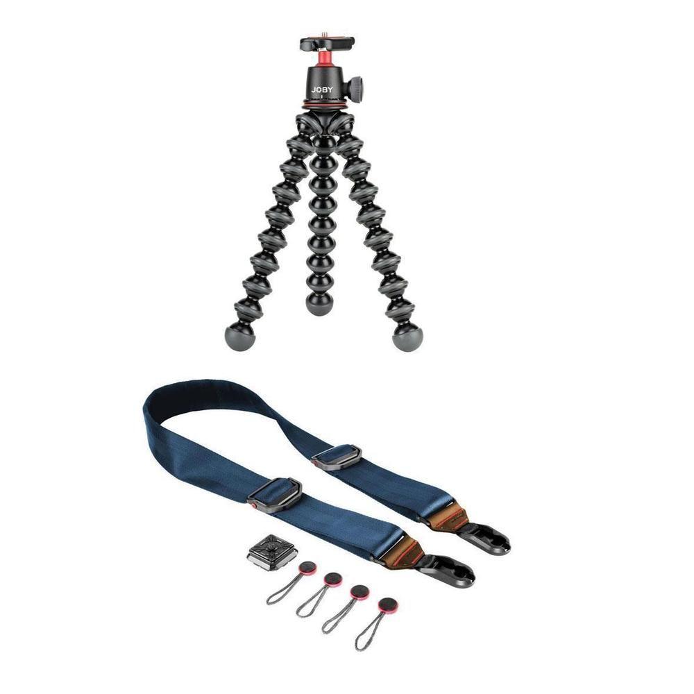 Joby Gorillapod 3k Kit Black With Peak Slide Premium Camera Neck Gorilla Pod Strap Tallac Ebay Link