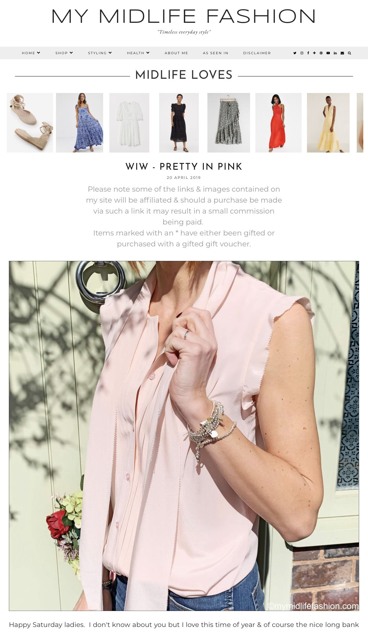 Wiw Pretty In Pink My Blog Posts Bow Blouse J Crew Shoes