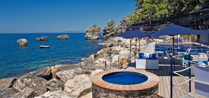 A Selection Of Beach Hotels With Heated Pool In France Greece Italy And Spain Which Are Perfect For Family Holidays Boutique Accommodation