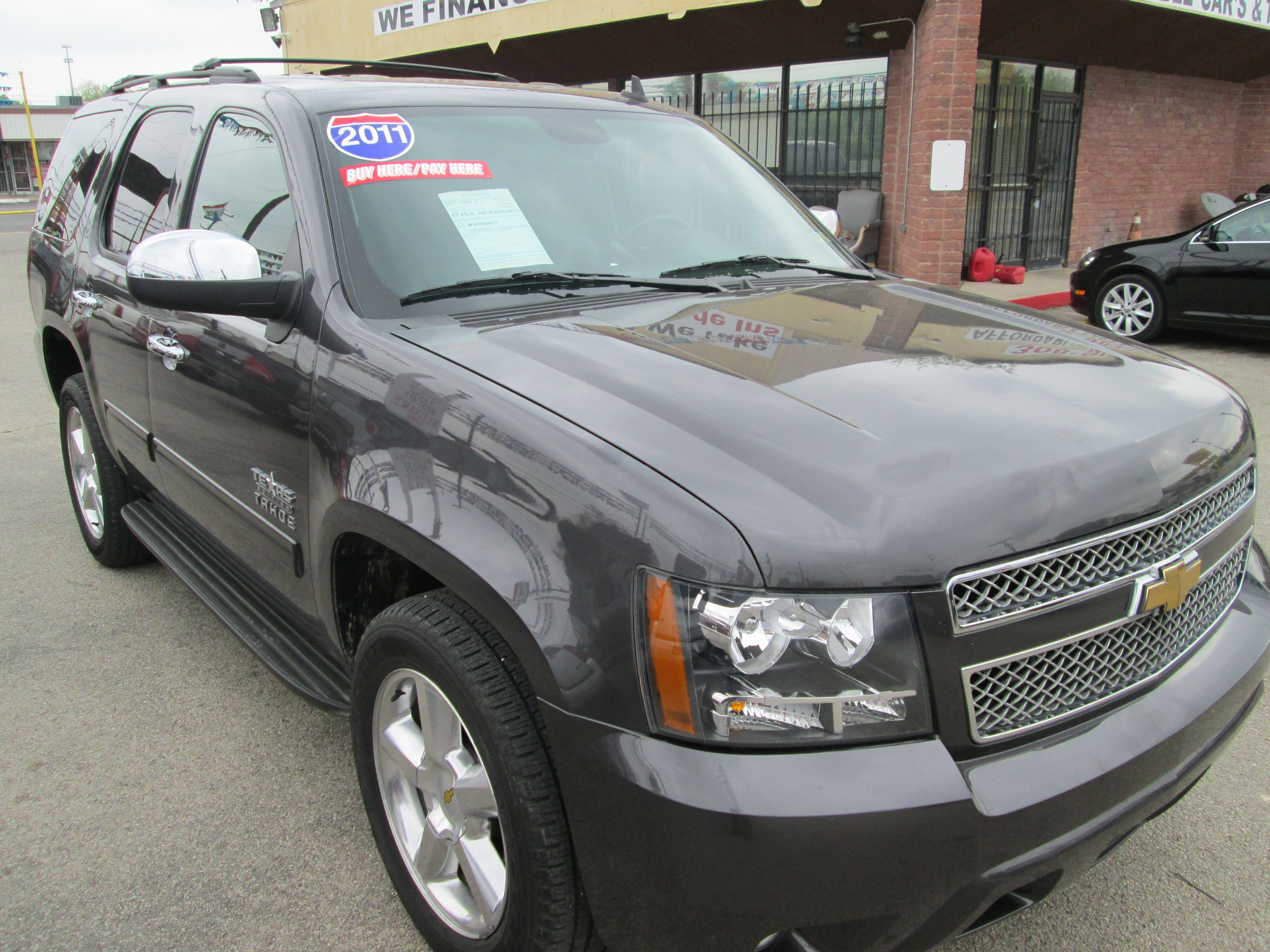 2011 Chevrolet Tahoe Texas Edition In House Financing For All