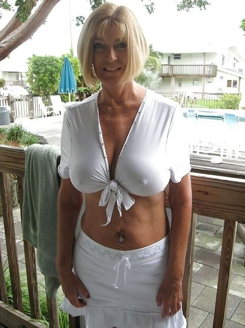 Hot sexy mom and boy
