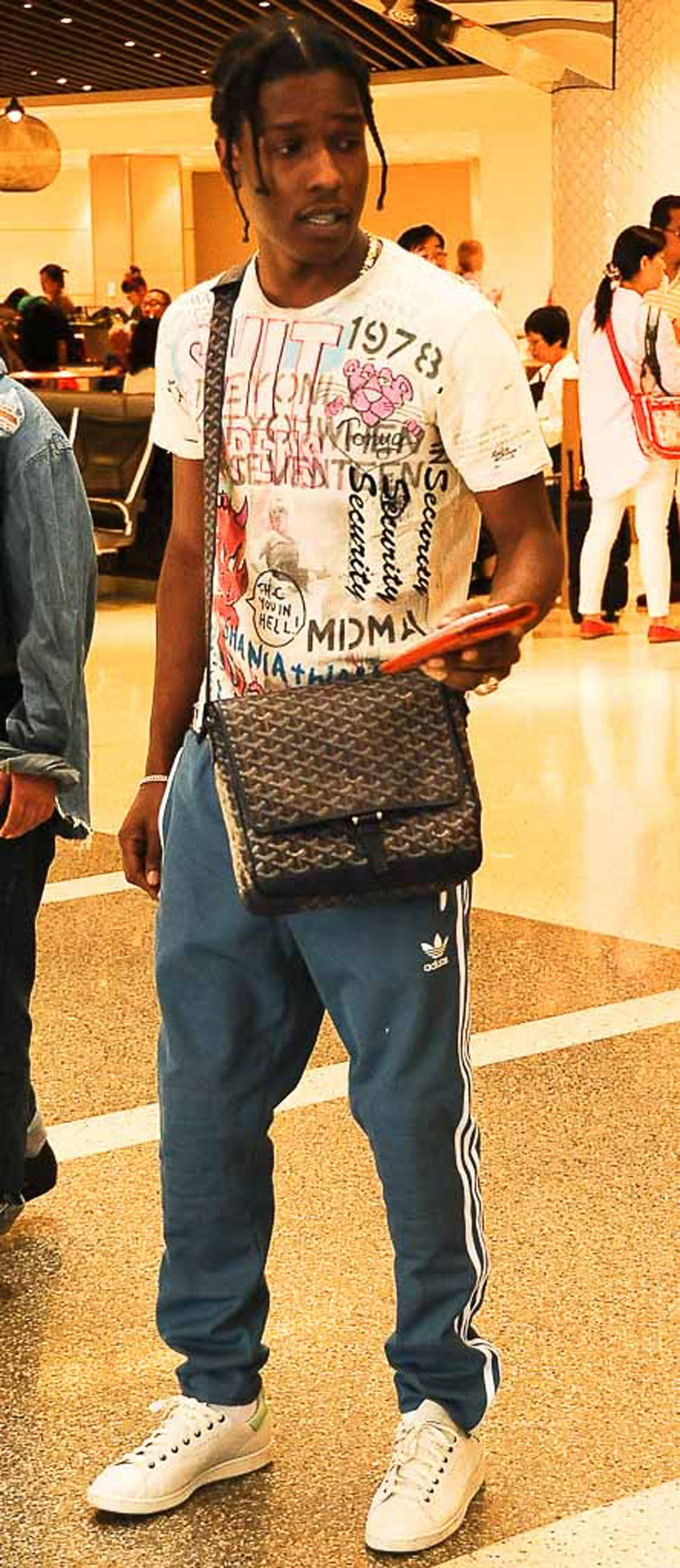 6729743ea733 Don't Call It a Murse: A$AP Rocky Has the Ultimate Summer Travel Bag ...