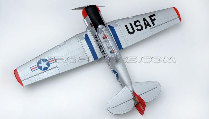 Dynam 5-CH AT-6 Texan 1370mm Brushless RC Warbird Plane RTF | Dynam