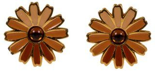 Givenchy Floral Enamel Earrings