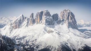 Sci alpinismo sulla Cima Cadine – Trentino / Italia