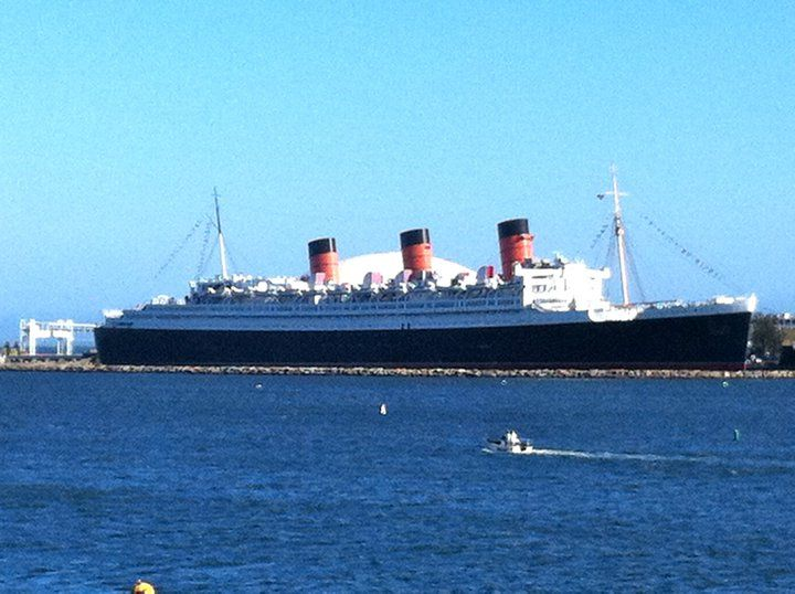 The Queen Mary Long Beach Ca I Lived In For 25 Years