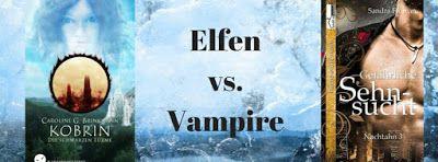 Elchi's World of Books: [Bloggeraktion] Elfen vs Vampire Battle - Kobrin g...