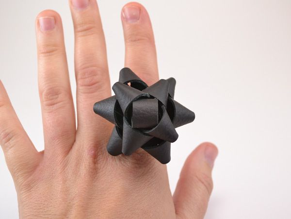 Leather Bow Ring Tutorial - Dream a Little Bigger