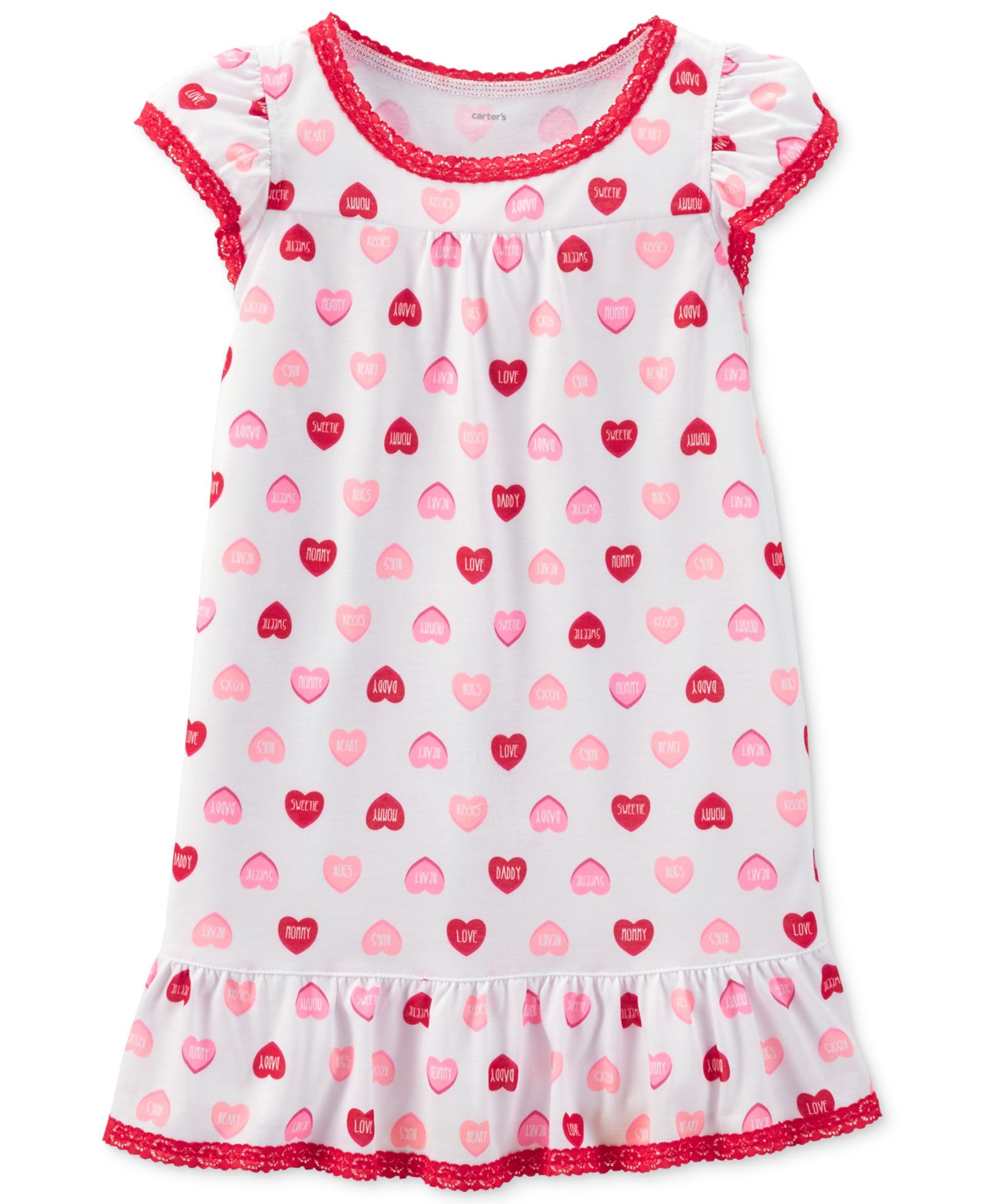 9725f4214 Carter s Little Girls  or Toddler Girls  Nightgown