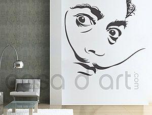Dali Art Decal Wall Decals Vinyl Wall Stickers Wall Decal Sticker